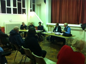 Crosspool Forum Open Meeting, 24 January 2013