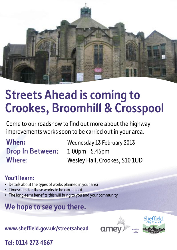 Streets Ahead roadshow
