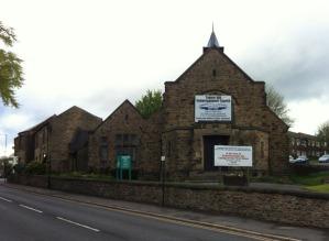 Tapton Hill church