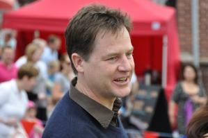 Deputy PM Nick Clegg visits Crosspool street market