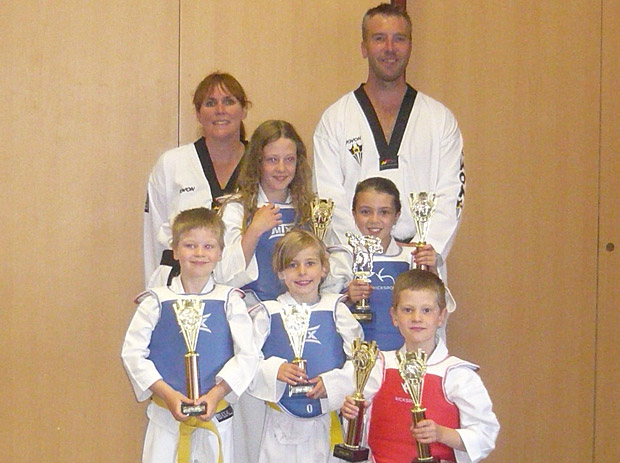 The Crosspool-based Champions Taekwondo champions