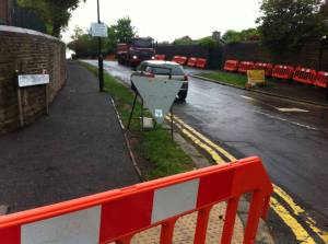 Streets Ahead improvements have been delayed in Tapton Hill