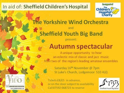 Autumn Spectacular charity classical/jazz music concert
