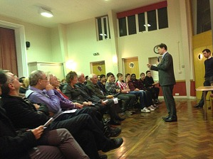 Residents question deputy PM at Nick Clegg at his Crosspool Q&A