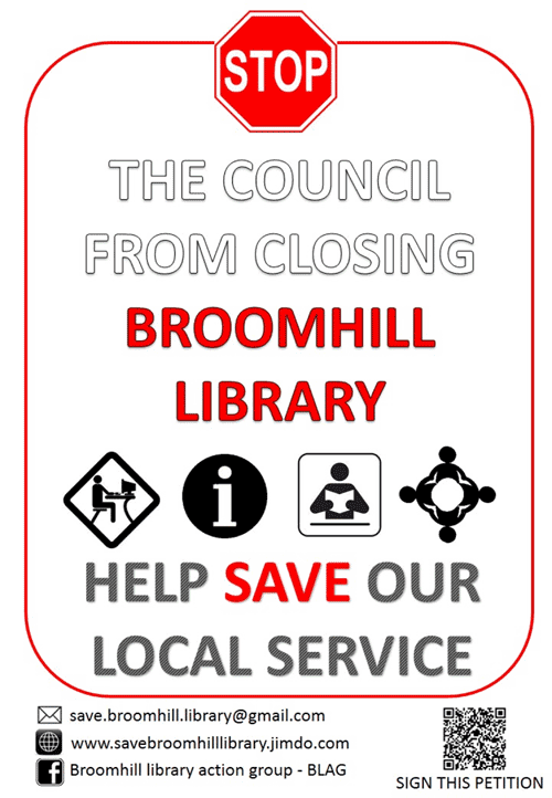 Save Broomhill Library