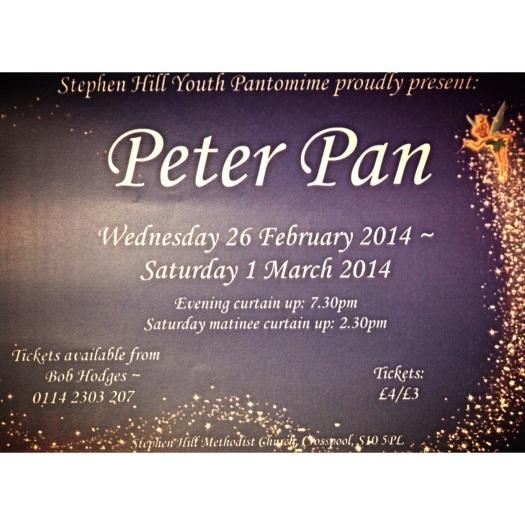 Peter Pan Stephen Hill panto