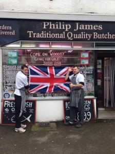 Philip James supporting James Woods