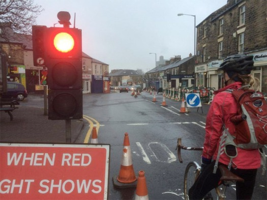 Broomhill roadworks cause major delays