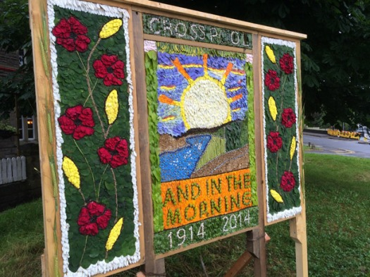 Crosspool well dressing