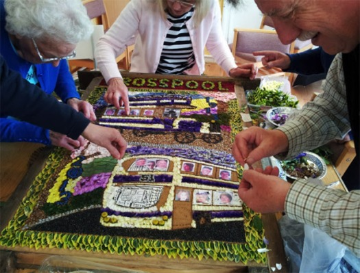 Last year's well dressing was a big hit. Why not help create this year's?