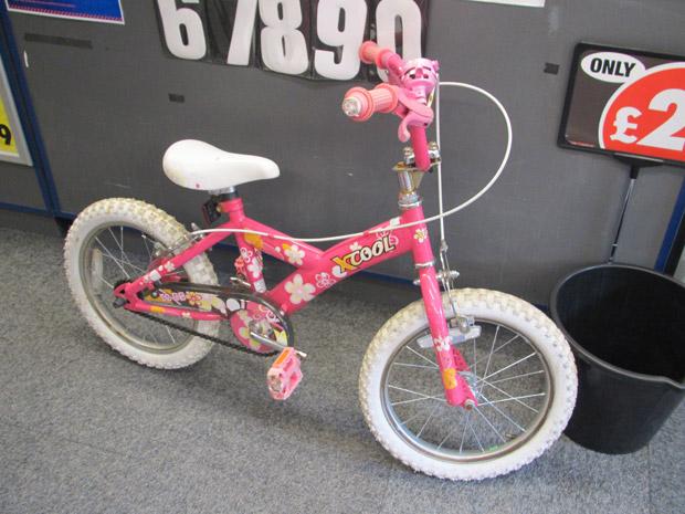 This bike was left outside Motor World