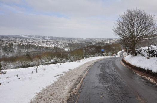 Back Lane is one Crosspool road which will now be gritted