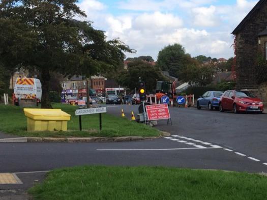 Three-way signals in place on Watt Lane