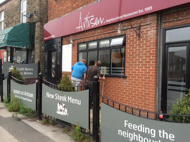 Former artisan building in crosspool to become indian for Artisan indian cuisine