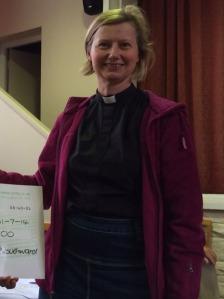 Revd Frances Eccleston