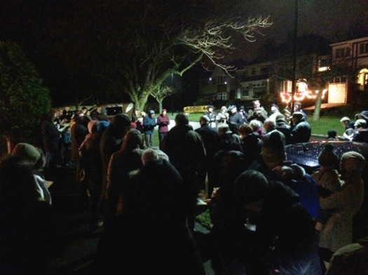 Carols on Dransfield Road
