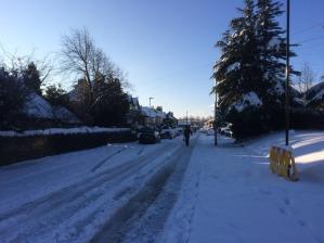 Watt Lane in the Boxing day snow, 2014
