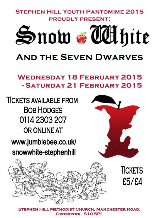 Snow White, the 2015  Stephen Hill panto