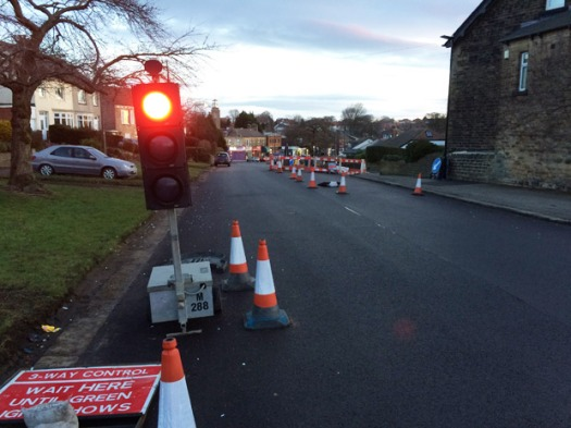 The Watt Lane/Cairns Road roadworks due to finish by Thursday 19 February