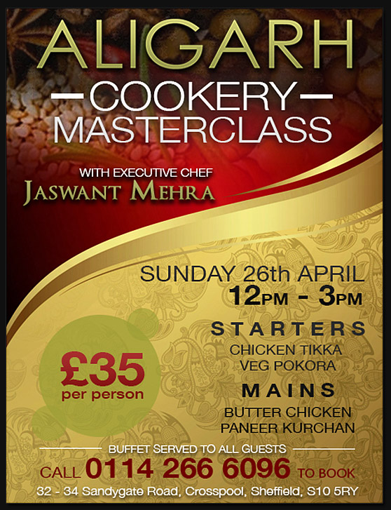 Aligarh cookery school launches with masterclass