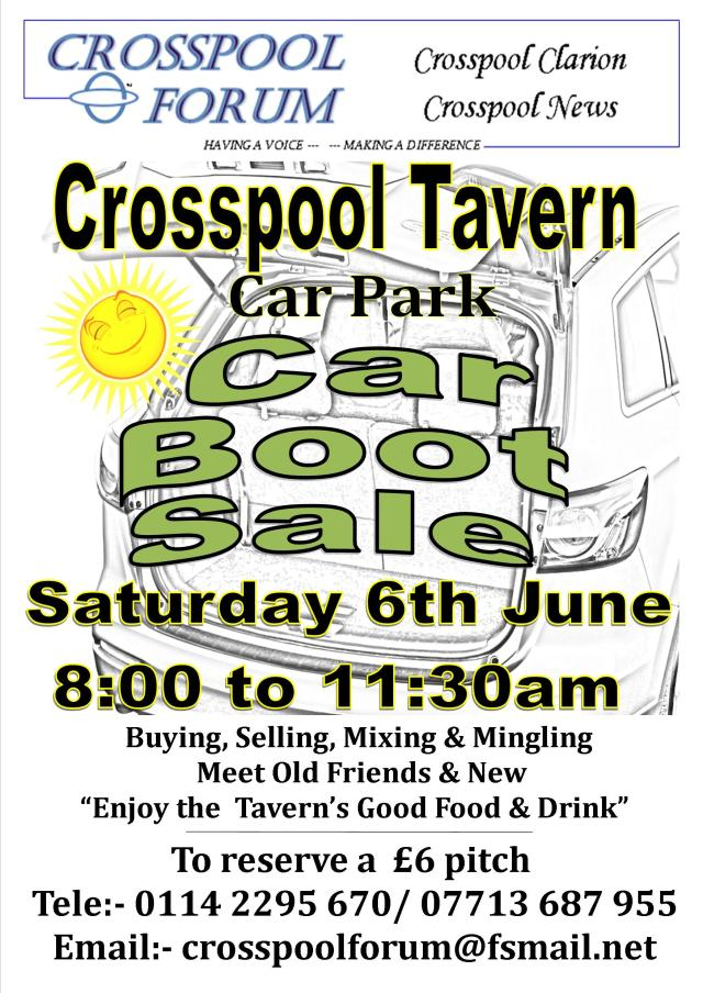 Car boot sale, 6 June 2015
