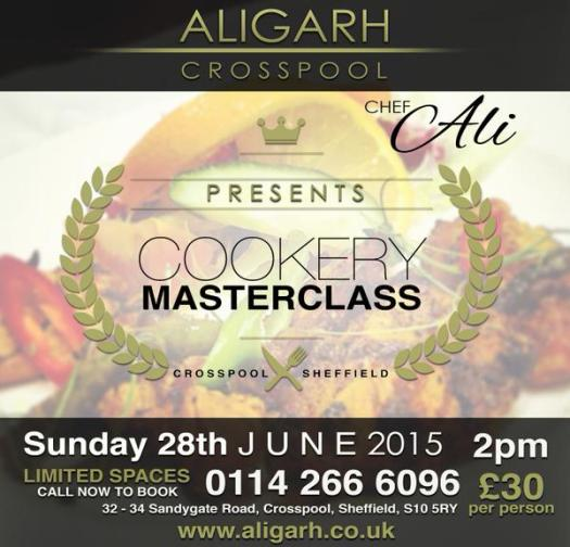 Aligarh cookery masterclass