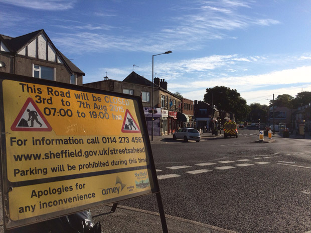 There will be major disruptions to 51 bus service to Crosspool next week