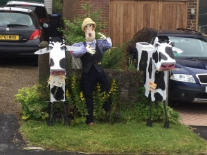 The Cows of Crosspool on Den Bank Crescent