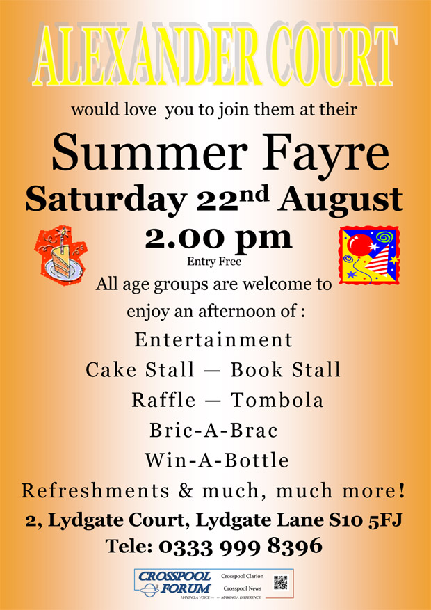 Summer Fayre at Alexander Court