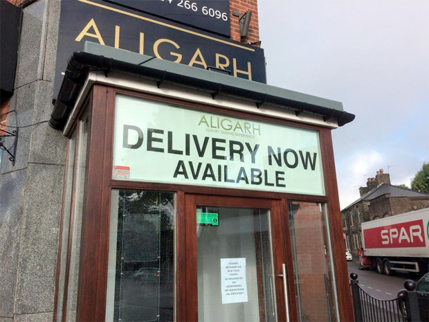 Aligarh restaurant has closed
