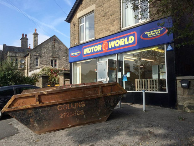 The former Motor World unit