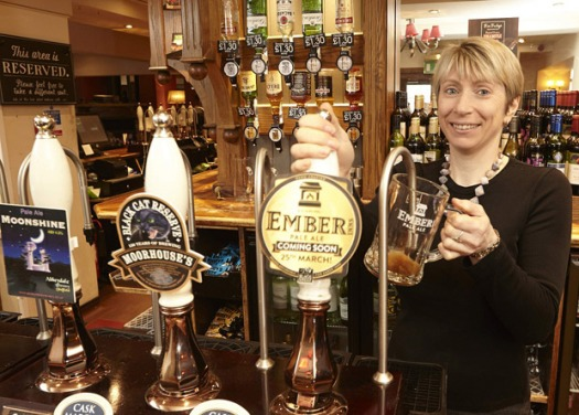 The Sportsman pub manager Samantha Chapman