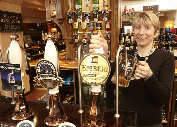 The Sportsman pub manager Samantha Chapman
