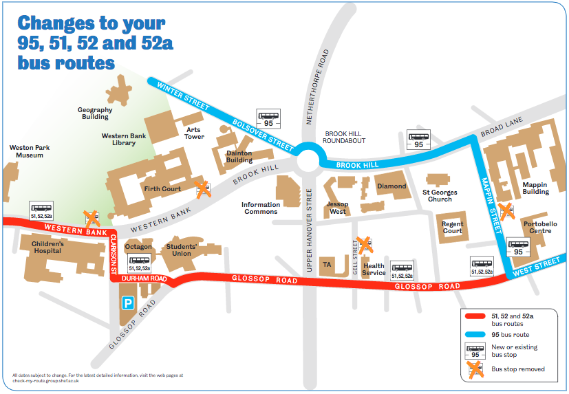 Changes To Citybound 51 And 52 Bus Routes Crosspool News