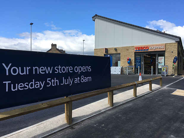 Tesco Express Crosspool opens on Manchester Road