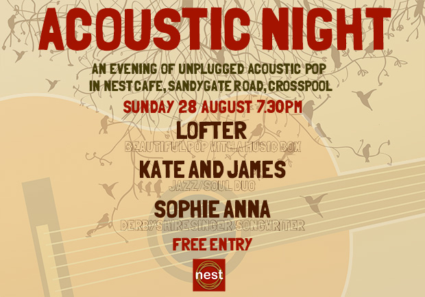Acoustic night 2 at Nest Crosspool