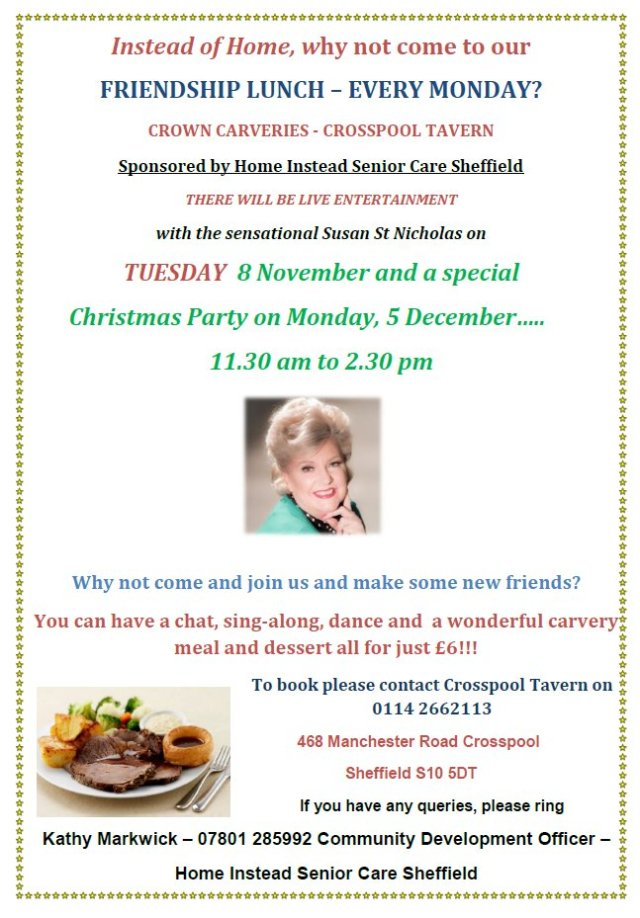 Crosspool Friendship Lunches