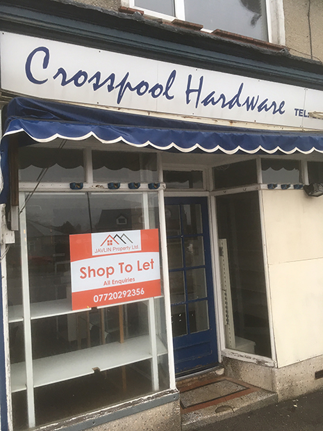 Former Crosspool Hardware shop unit to let
