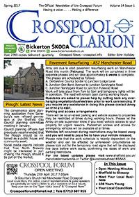 Crosspool Clarion, Volume 14, Issue 1, Spring 2017 (PDF, 4.9MB)