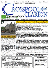 Crosspool Clarion, Volume 14, Issue 1, Spring 2017 (PDF, 4.9MB)