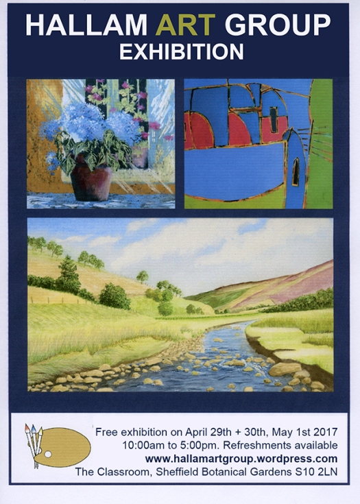 Hallam Art Group Exhibition