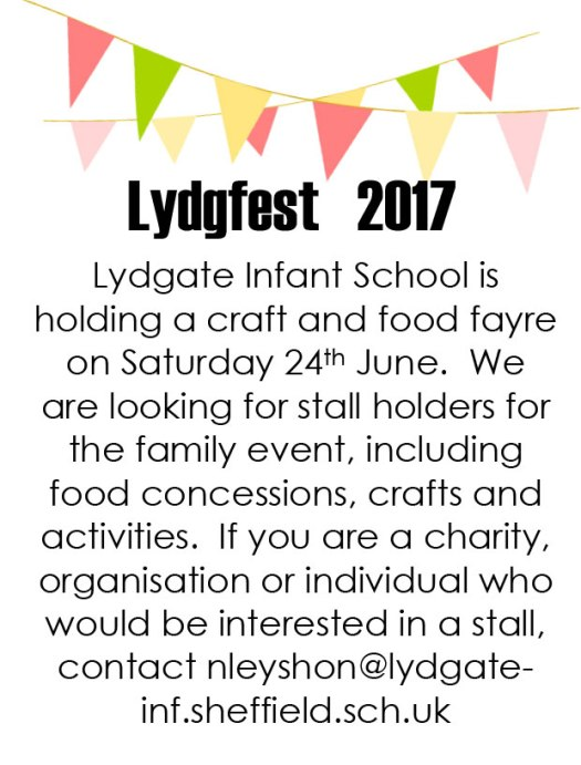 Lydgfest school fair looking for stall holders