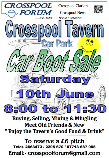 Car boot sale June 2017