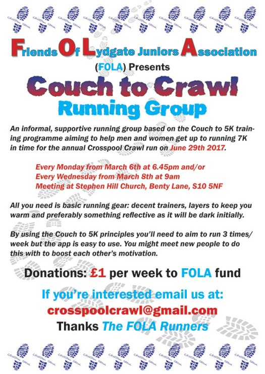 Crosspool Couch to Crawl 2017