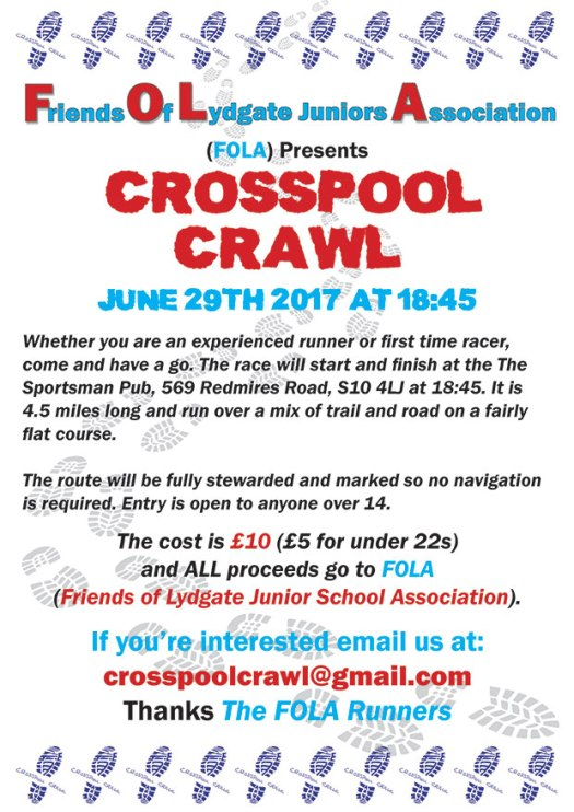 Crosspool Crawl 2017