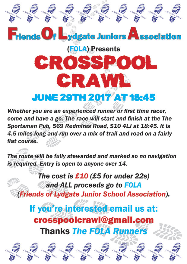 Crosspool Crawl 2017