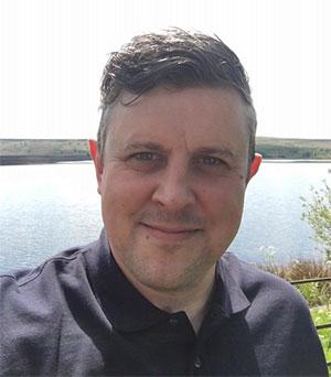 Martin Swift, winner of a Pre-School Learning Alliance Volunteer Award