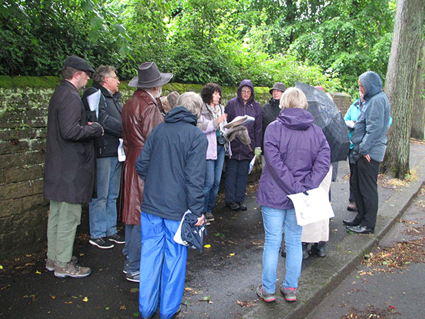 Crosspool history walk 2017
