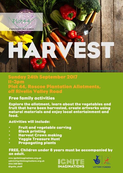 Harvest family activities