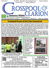 Crosspool Clarion Volume 14 Issue 4 Winter 2017